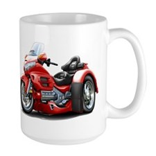 Goldwing Red Trike Mug