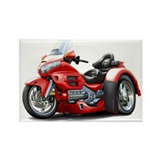 Goldwing Red Trike Rectangle Magnet