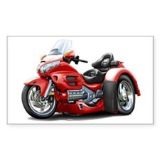 Goldwing Red Trike Decal
