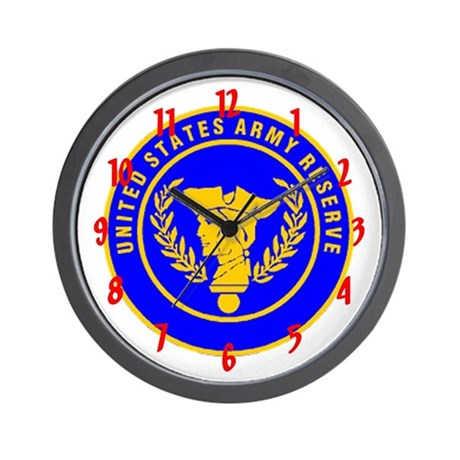 """""""Army Reserve"""" Wall Clock"""