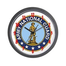 """Army National Guard"" Wall Clock"