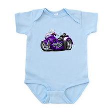 Goldwing Purple Trike Infant Bodysuit