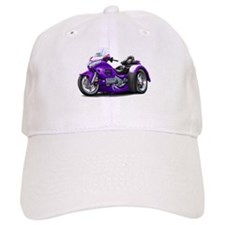 Goldwing Purple Trike Baseball Cap