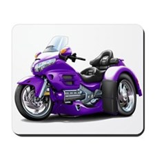 Goldwing Purple Trike Mousepad