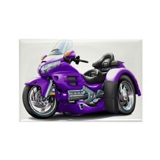 Goldwing Purple Trike Rectangle Magnet
