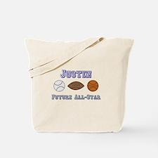 Justin - Future All-Star Tote Bag