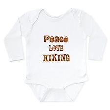 Hiking Long Sleeve Infant Bodysuit