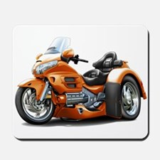 Goldwing Orange Trike Mousepad