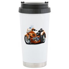Goldwing Orange Trike Travel Mug
