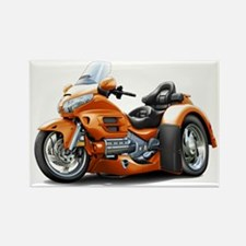 Goldwing Orange Trike Rectangle Magnet