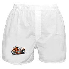 Goldwing Orange Trike Boxer Shorts