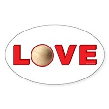 Volleyball Love 3 Decal