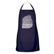 Rosetta Stone Apron (dark)