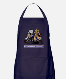HIGHWAY PATROL GIRL Apron (dark)