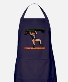 CAR MECHANIC GIRL Apron (dark)