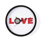 Darts Love 4 Wall Clock