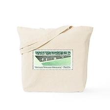 Veterans Stamp Tote Bag