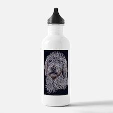 Labradoodle 2 Water Bottle