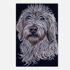 Labradoodle 2 Postcards (Package of 8)