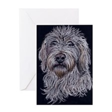 Labradoodle 2 Greeting Card