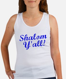 Shalom, Y'all! Women's Tank Top
