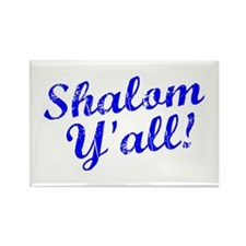 Shalom, Y'all! Rectangle Magnet