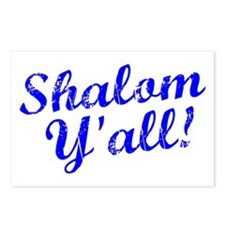 Shalom, Y'all! Postcards (Package of 8)