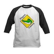 Alligator Crossing Sign Tee