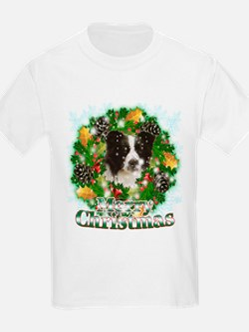Merry Christmas Border Collie T-Shirt