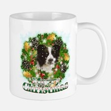 Merry Christmas Border Collie Mug
