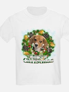 Merry Christmas Beagle T-Shirt