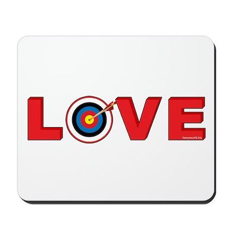 Archery Love 4 Mousepad