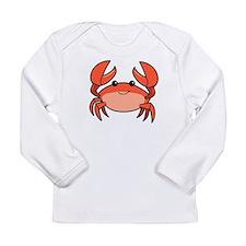 Crab Long Sleeve Infant T-Shirt