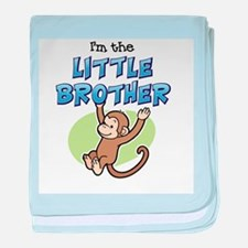 Little Brother - Monkey baby blanket