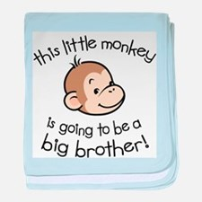 Cute Big brother baby blanket