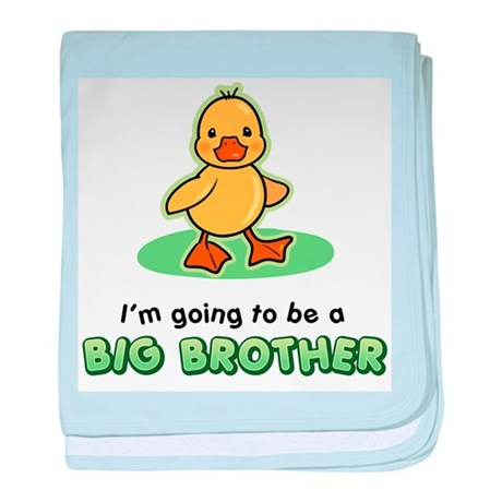 Big Brother to be - Duck baby blanket