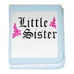 Big Sister - Vintage baby blanket