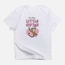 Little Sister - Monkey Infant T-Shirt