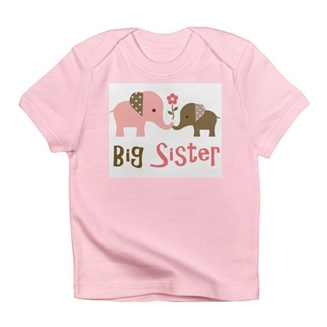 Big Sister - Mod Elephant Infant T-Shirt
