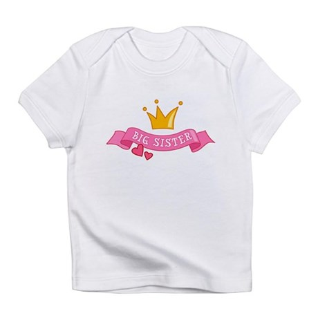 Big Sister - Princess Infant T-Shirt