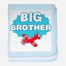 Big Brother - Airplane baby blanket