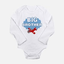 Big Brother - Airplane Long Sleeve Infant Bodysuit