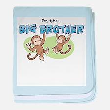 Big Brother (Monkey) baby blanket