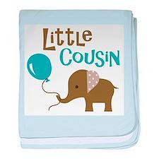 Little Cousin - Mod Elephant baby blanket