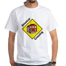 Streetcar Crossing Sign Shirt