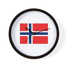 Norwegian Pride Wall Clock