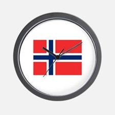 Norwegian Pride Wall Clock
