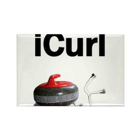 iCurl Rectangle Magnet (100 pack)