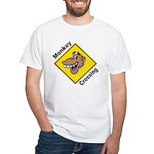 Monkey Crossing Sign Shirt