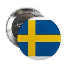 "Swedish Pride 2.25"" Button"